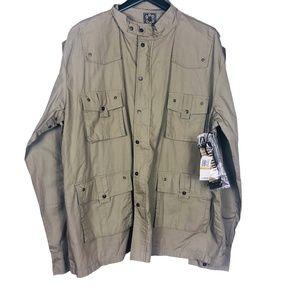 Blac Label XXXL Gunmetal Tactical Utility Jacket